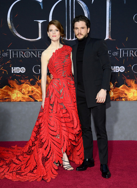 Kit Harington Game Of Thrones Final Season Premiere Red Carpet