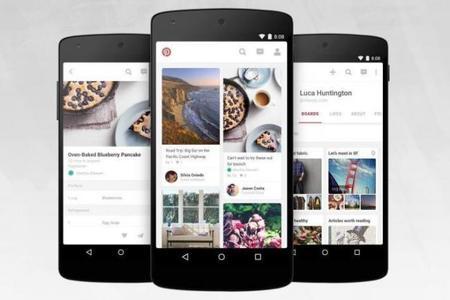 Pinterest para Android se actualiza con nuevo diseño y mejoras