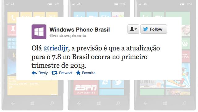 Windows Phone 7.8 Update 2013