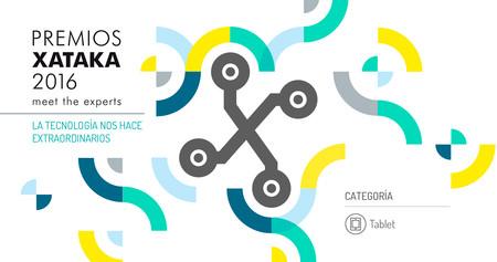 Mejor tablet: vota en los Premios Xataka 2016 [actualizado]