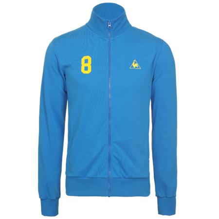 chaqueta futbol lecoq azul