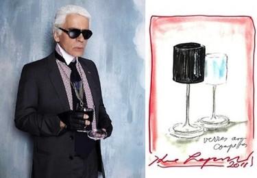 Karl Lagerfeld y su colección de complementos para el hogar