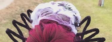 25 ideas de peinados divertidos para hacer a niños y niñas en Halloween