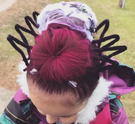 25 Ideas De Peinados Divertidos Para Hacer A Ninos Y Ninas En Halloween