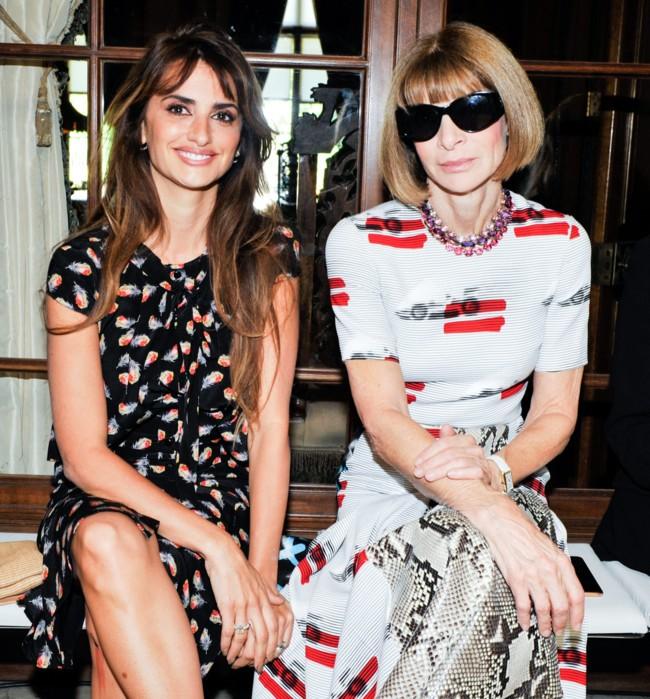 Famosos Semana Moda Nueva York Septiembre 2015 1