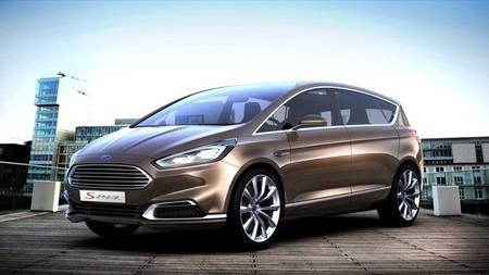 Ford S-MAX Concept: el futuro de los monovolúmenes Ford llega a Frankfurt