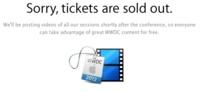 Las entradas de la WWDC 2012 se agotan... ¡en menos de dos horas!