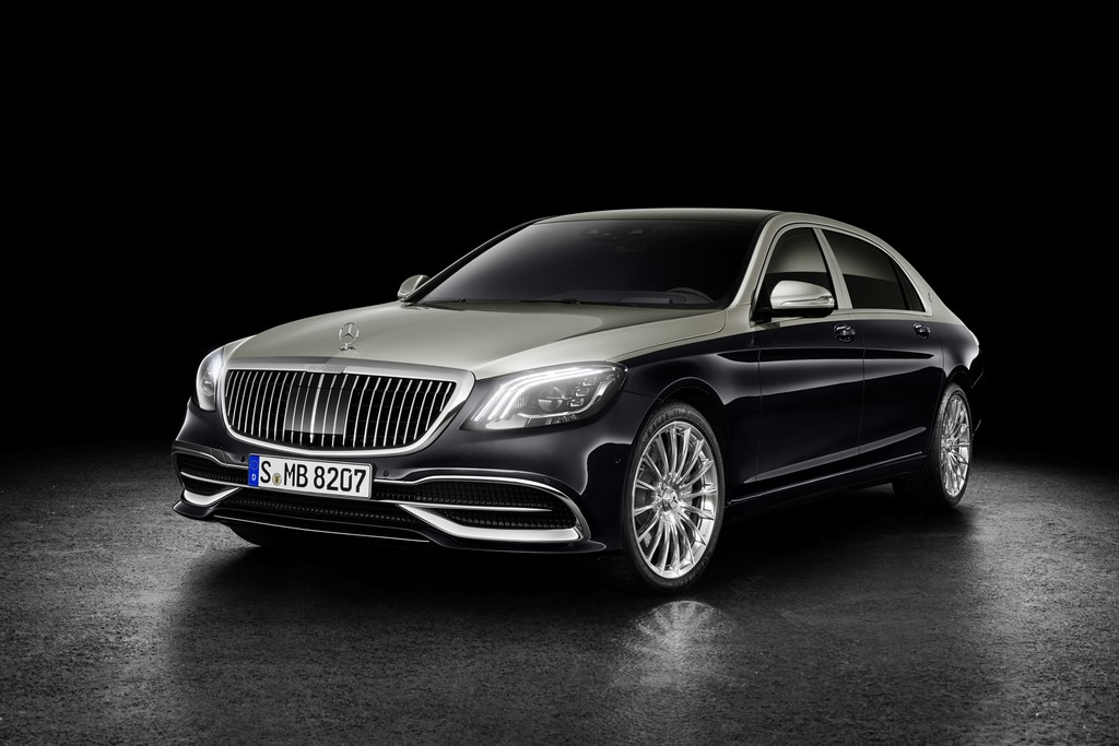 Mercedes Maybach S 2018 2