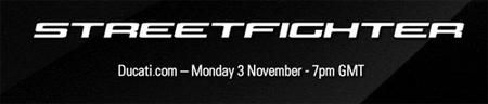 Ducati presentará su Streetfighter el lunes