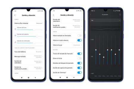 Xiaomi Mi 9 Se Ajustes Audio