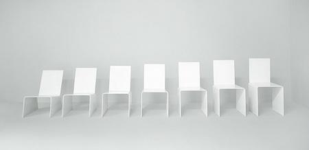 7 Chairs, la metamorfosis de una silla