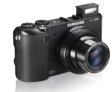 Samsung EX2F con flash