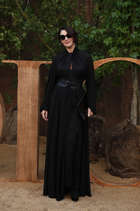 monica bellucci front row dior 2020