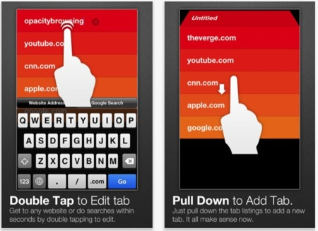 Opacity Browser, navega de una forma diferente desde tu dispositivo iOS