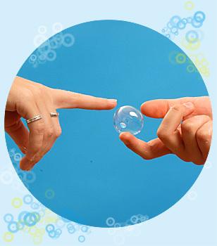 Burbujas...¿burbujas? Stubbles!