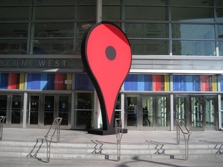 google io san francisco evento chincheta maps moscone center