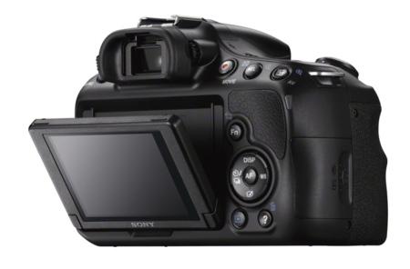 Sony A58 pantalla
