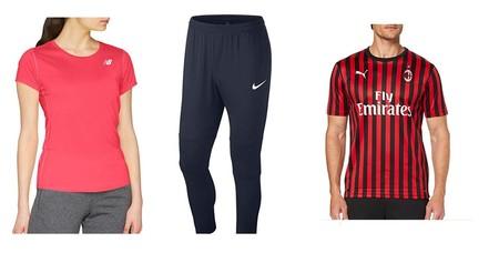 Chollos en tallas sueltas de ropa deportiva Puma, Nike o New Balance en Amazon