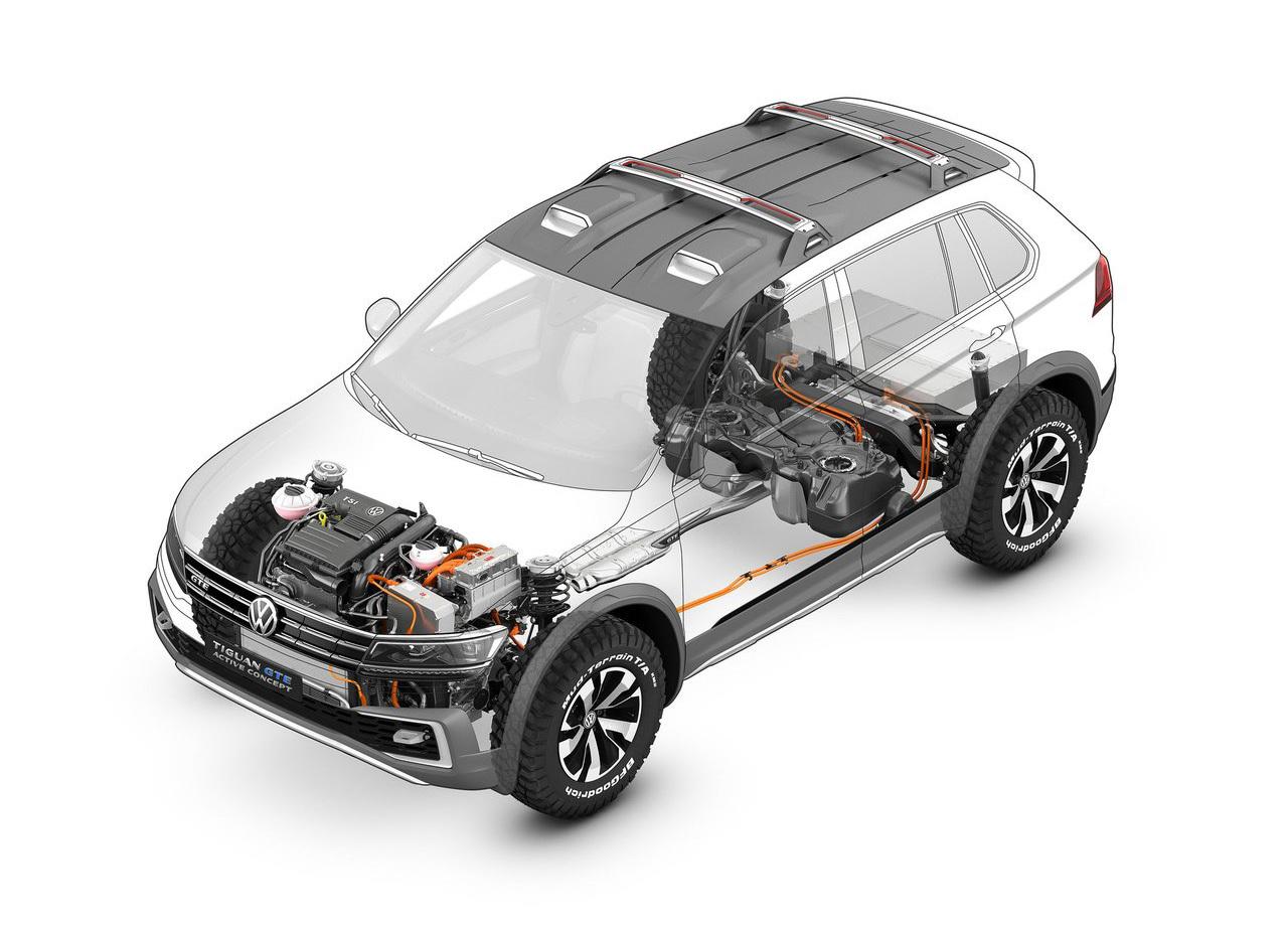 Foto de Volkswagen Tiguan GTE Active Concept (7/17)