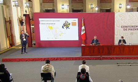 México ya no tiene ningún estado en semáforo rojo de COVID, pero cuatro estados retrocedieron de amarillo a naranja
