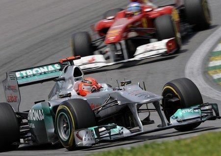 Fernando Alonso se deshace en elogios hacia Michael Schumacher