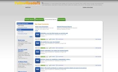 FellowReaders, sigue tus medios online favoritos así como los de personas afines