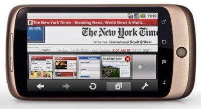 Opera Mini 6 y Opera Mobile 11 serán presentados la semana que viene