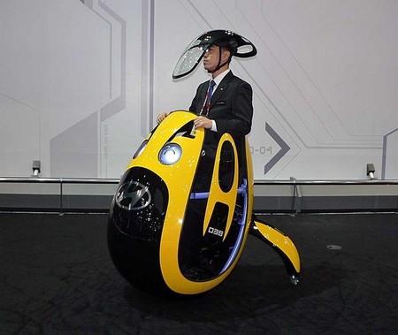 Hyundai E4U: un extraño vehículo para la movilidad personal