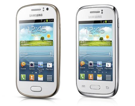 Samsung Galaxy Fame y Galaxy Young, pequeños androides para este principio de año