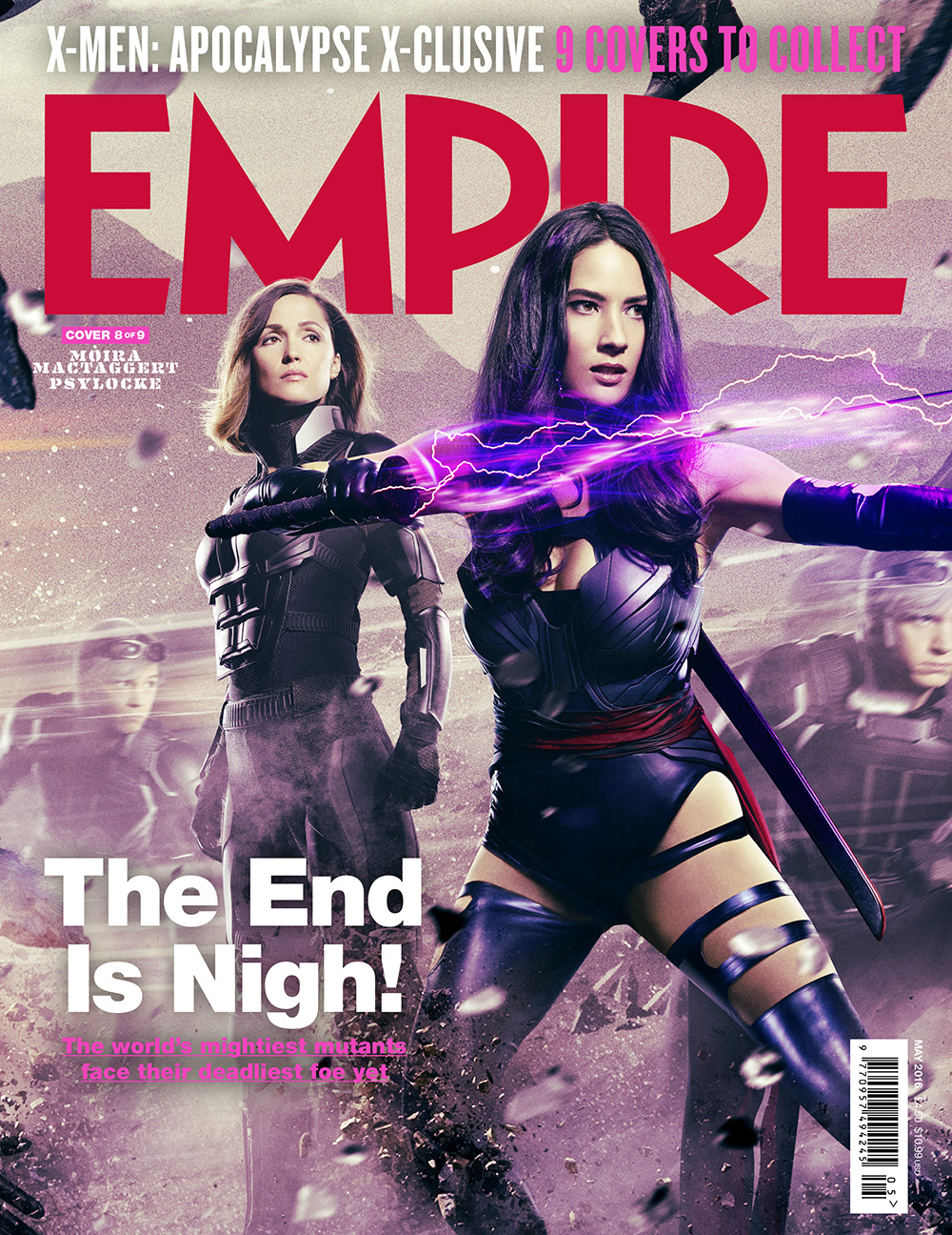 Foto de 'X-Men: Apocalipsis', 9 portadas de Empire (8/9)