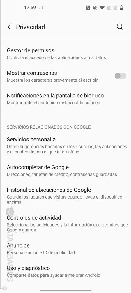 Relacionados Google