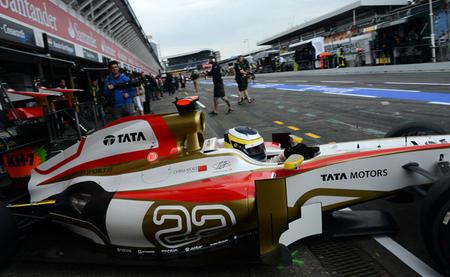 HRT ocupará la última fila de parrilla del Gran Premio de Alemania