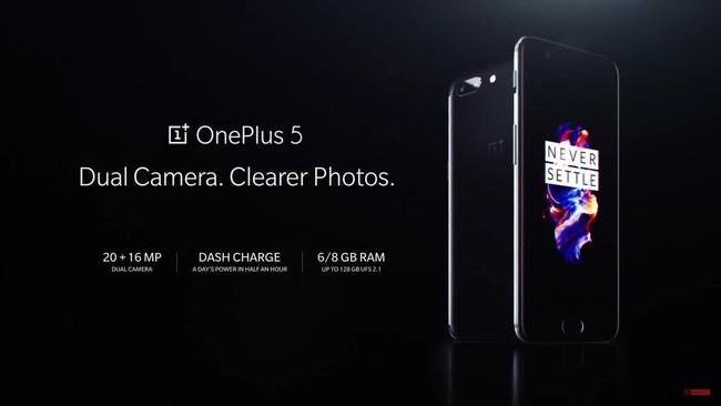Todo lo que cambia de los OnePlus tres y OnePlus 3T al OnePlus 5