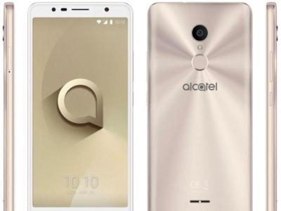 El Alcatel 3C se deja ver en imágenes de prensa: sensor de huellas y pantalla 18:9 por 100 euros