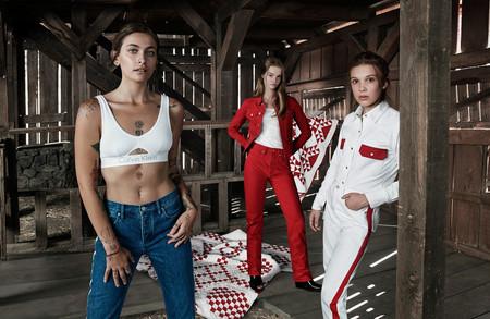 Y tras las Kardashian/Jenner, Lulu, Paris y Millie se convierten la nueva (y flipante) sensación de Calvin Klein