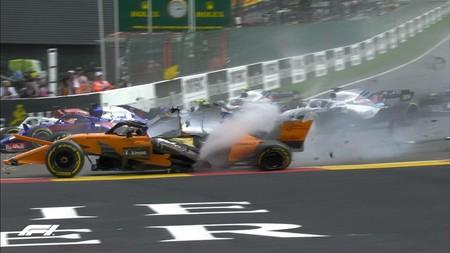 El halo nos da razones en el GP de Bélgica de Fórmula 1 para no volver a criticarlo