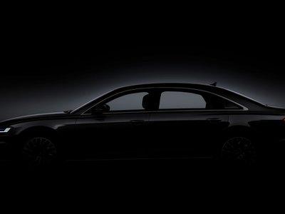 El Audi A8 sigue desnudándose en su último teaser
