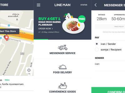 LINE lanza el chico de los recados en Asia con LINE MAN