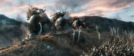 Un fotograma de la batalla final