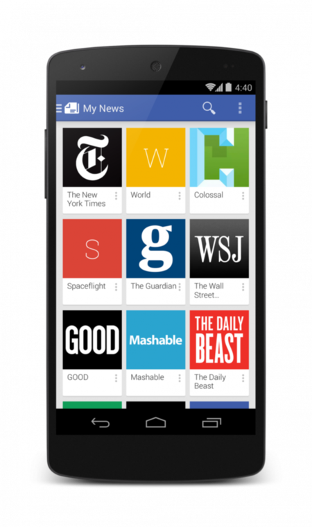 Todas tus noticias en el nuevo Google Play Newsstand