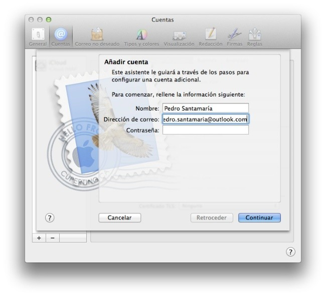 Mail OS X
