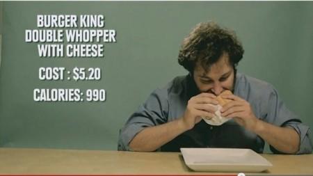Comidas con más calorías por dolar pagado