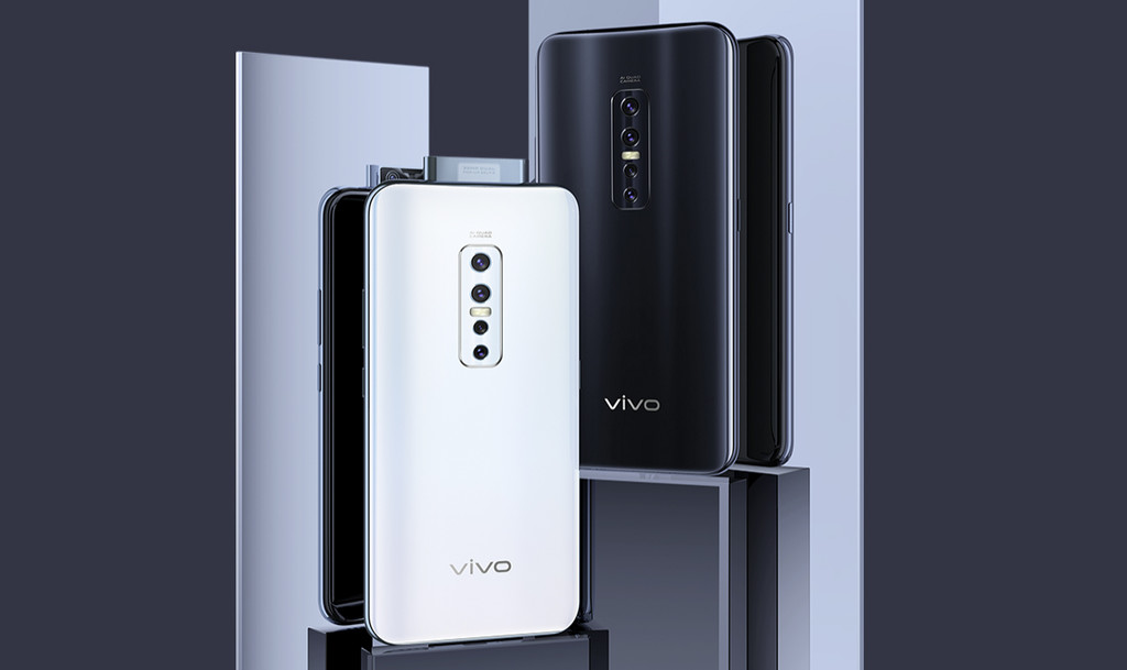 Vivo V17 Pro: doble alcoba retráctil de 32 MP por delante, cuádruple alcoba de 48 MP por detrás