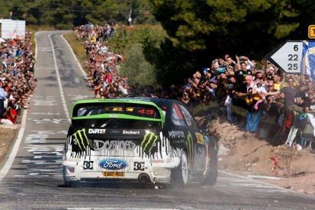 Ken Block tiene un accidente a pocas horas del comienzo del Rally de Gales