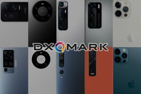 Las mejores 10 cámaras móviles en el primer tercio de 2021 según el ranking de DxO Mark