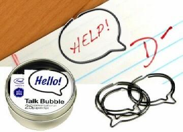 Talk Bubble, clips que hablan