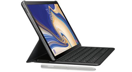 Nuevas imágenes de la Galaxy Tab S4 nos muestran en detalle su nuevo S-Pen y una funda con teclado