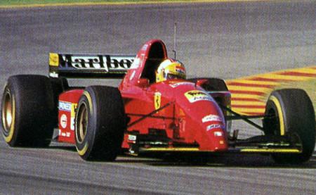 Luca Badoer Ferrari 412 T2 Fiorano Test 1995