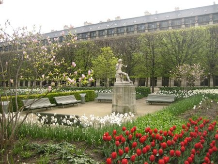 Los jardines del Palais Royal, París