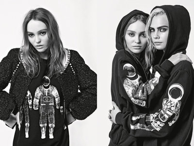 ¿Cara o Lily-Rose? La campaña de Chanel para este otoño se convierte en un duelo de titanes